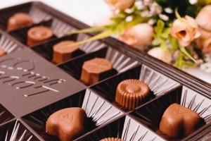 チョコとバラ