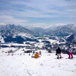 เล่นสกีที่GALA ยูซาวะ ในฤดูใบไม้ผลิ