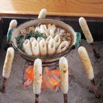 คิริทัมโปะ (อาหารประจำท้องถิ่น) จังหวัดอาคิตะ