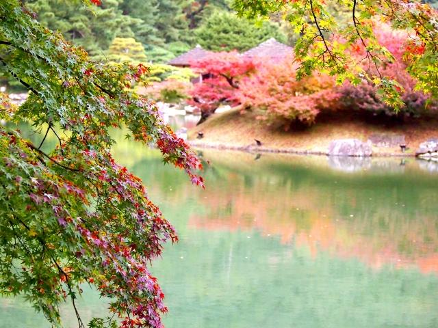 秋の栗林公演