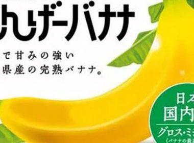กล้วยที่กินได้ทั้งเปลือก 「มงต์เกบานาน่า」