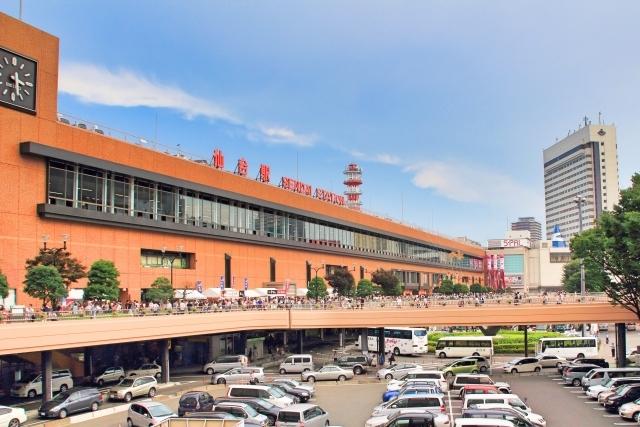 ① 仙台駅